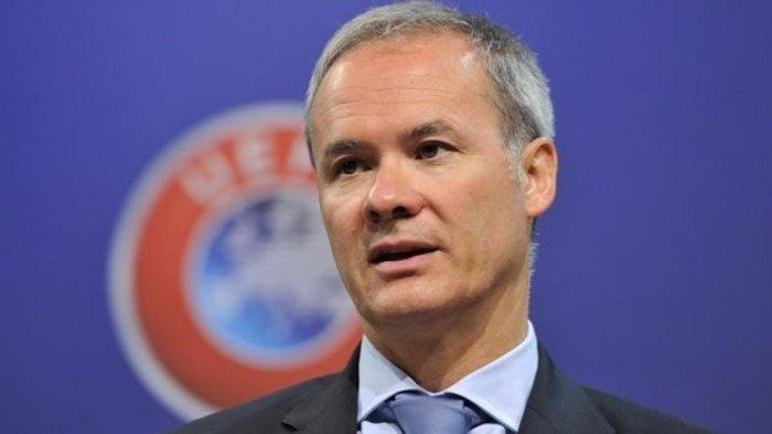 UEFA deputy general secretary Giorgio Marchetti.