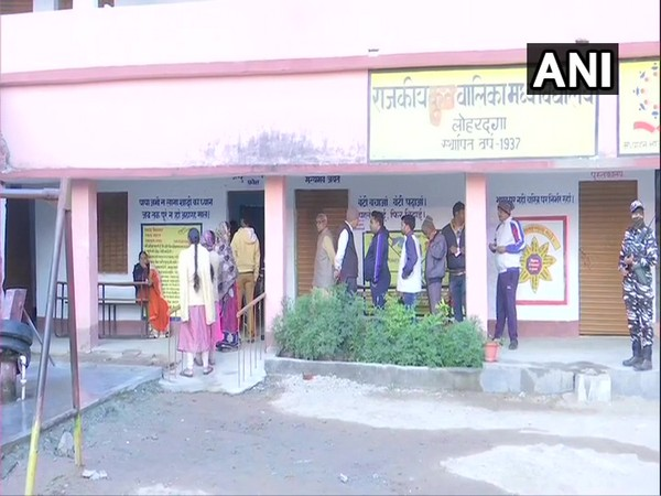 First phase of polling for 13 seats begins in Jharkhand. (ANI Photo)