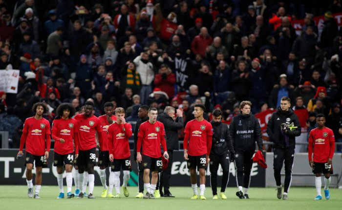 Reuters photo of Manchester United