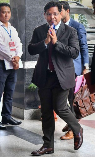 The party led by Meghalaya Chief Minister Conrad K Sangma said it was firm in its stand against the bill even as the Centre was planning to introduce it again in the Parliament.