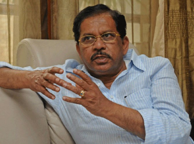 Former DyCM G Parameshwara. (DH Photo)