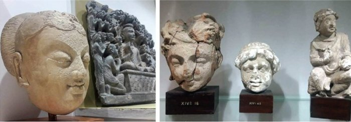The sculpture from the period between the 3rd and the 4th century AD was discovered by the first Italian archaeological mission in Pakistan. (Photo: Twitter)
