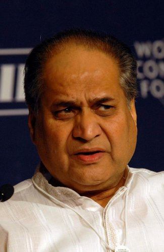 The chairman of Indian conglomerate Bajaj Group and member of parliament Rahul Bajaj. DH photo
