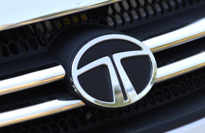The Logo OG TATA motors. DH photo