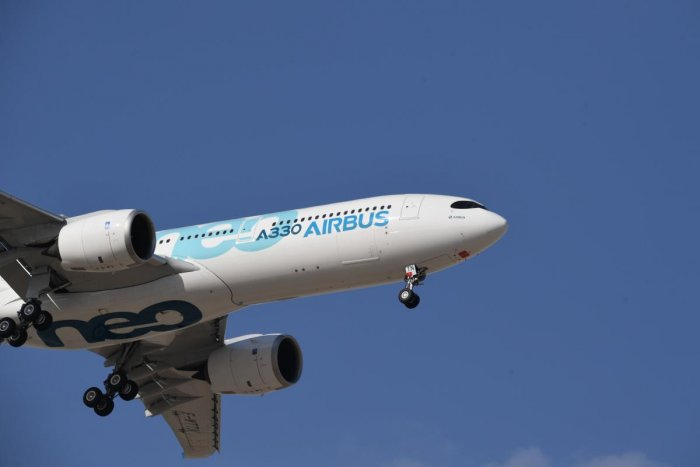 An Airbus 330 commercial aeroplane. AFP photo