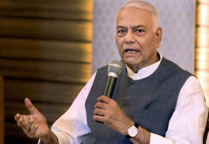 Former Finance Minister Yashwant Sinha. DH photo