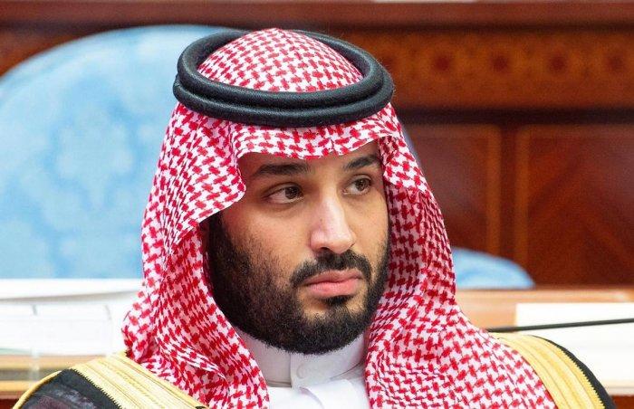 "Crown Prince Mohammed bin Salman, the kingdom's de facto ruler, hailed it as a ""unique opportunity"" to shape international consensus AFP/Saudi Royal Palace/Bandar Al-Jaloud"