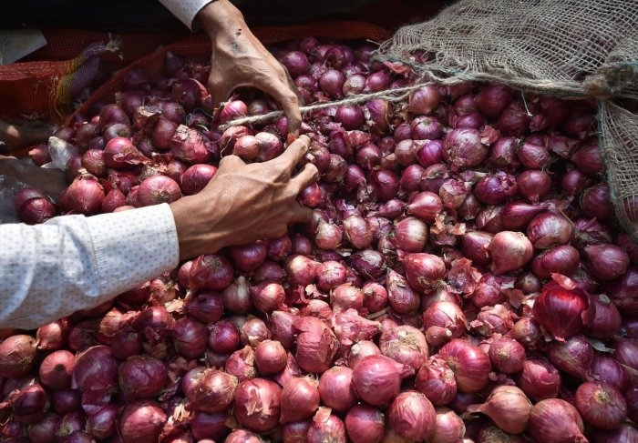 Onion prices remain high across the major cities of the country as the average selling price ruled at Rs 75 per kg on Saturday (November 30) while the maximum rate of Rs 120 per kg was recorded in Mayabunder. PTI photo