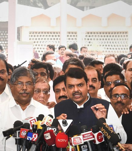 Fadnavis, leader of state BJP legislature unit, was on Sunday named the new leader of opposition in the Assembly by Speaker Nana Patole. PTI
