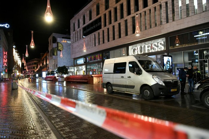 The site of the stabbing in Hague (Reuters photo)