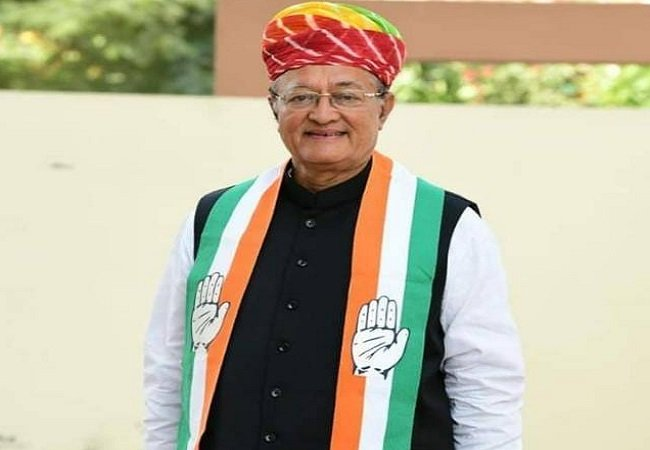 Rajasthan's Minister of Energy and Water Resources and Art and Culture B D Kalla.