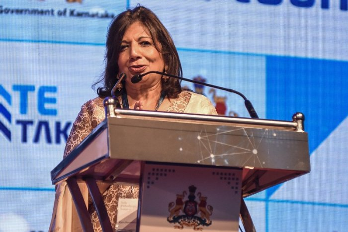 Kiran Mazumdar Shaw, Chairperson and MD, Biocon and Chairperson Vision Group BT. (DH Photo)
