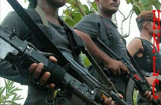 Cadres of HNLC in an undisclosed location. (DH Photo)