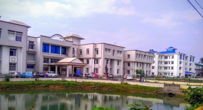 A view of new Academic building Gauhati University. (Photo: Wikimedia Commons)