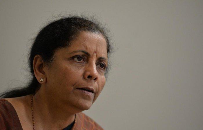Nirmala Sitharaman (AFP photo)