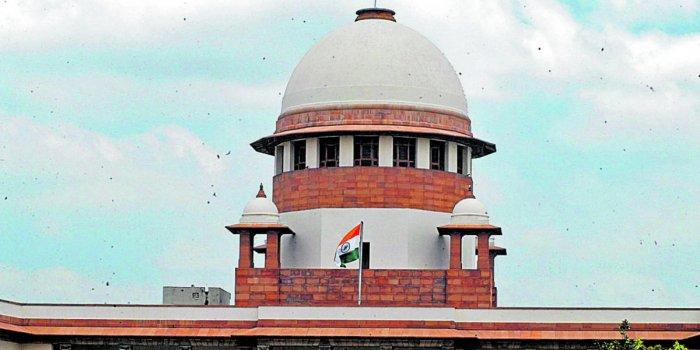 The Supreme Court Building in New Delhi. DH photo