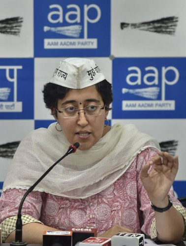 At a press conference, AAP spokesperson Atishi alleged that law-and-order situation in Delhi has deteriorated and cases of rape in the national capital have increased since Shah took charge of the Home Ministry. Photo/PTI