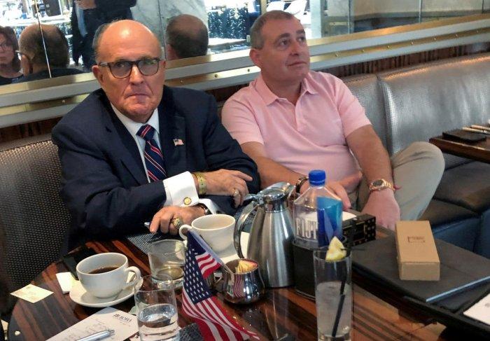 U.S. President Trump's personal lawyer Rudy Giuliani. Photo by REUTERS