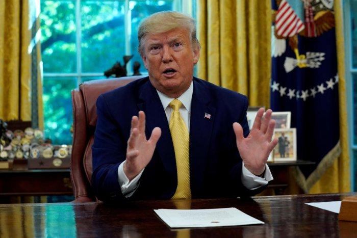U.S. President Donald Trump. Representative Image. (Reuters Photo)