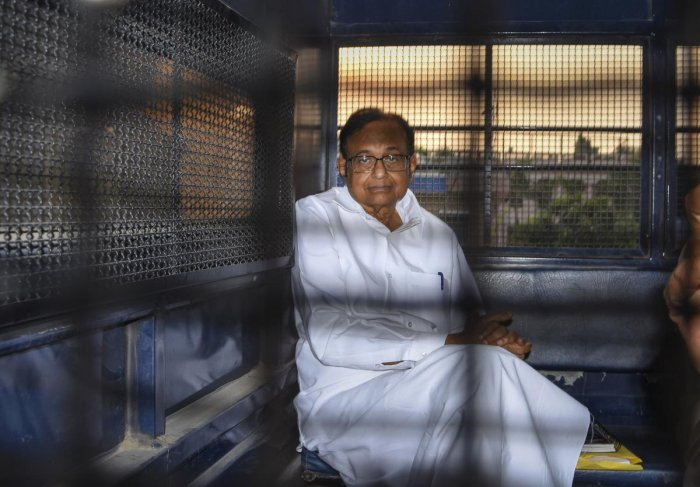 Senior Congress leader and former finance minister P Chidambaram. (PTI file photo)