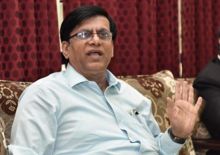 Basavaraj Rayareddy. (DH Photo)