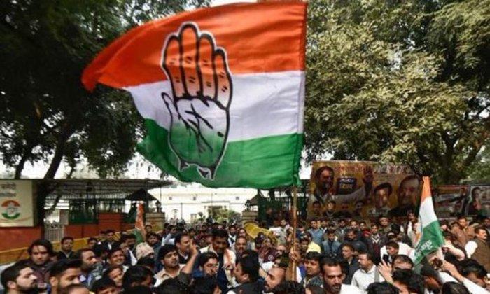 Congress Party flag (DH photo)