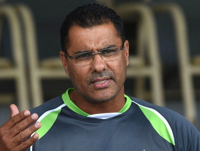 Waqar Younis. Photo by DH.