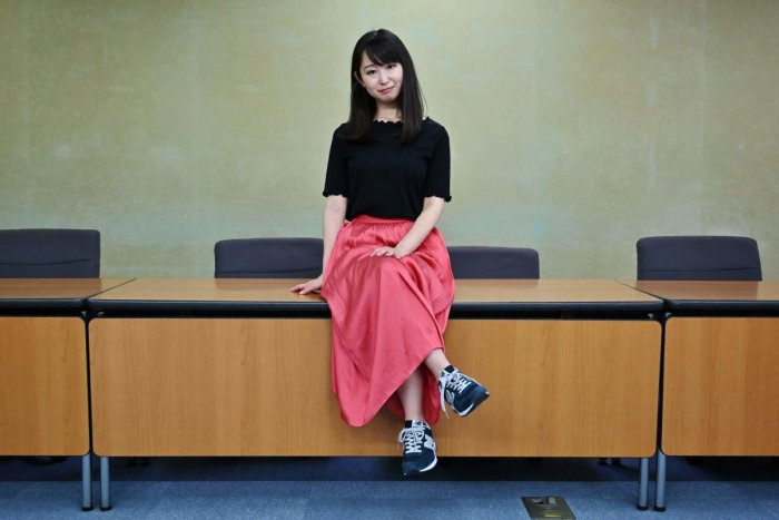 """A group of Japanese women submitted a petition to the government to protest what they say is a de-facto requirement for female staff to wear high heels at work. The online campaign #KuToo, using a pun from a Japanese word """"kutsu"""" - that can mean either """"s"""
