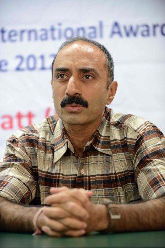 Former IPS officer Sanjiv Bhatt. Photo by AFP.