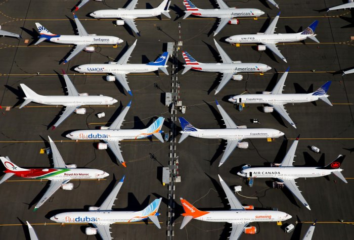 Indian carrier SpiceJet has about a dozen Boeing 737 MAX planes in its fleet and 155 on order - among the largest single orders for the narrow-body plane. Photo/REUTERS