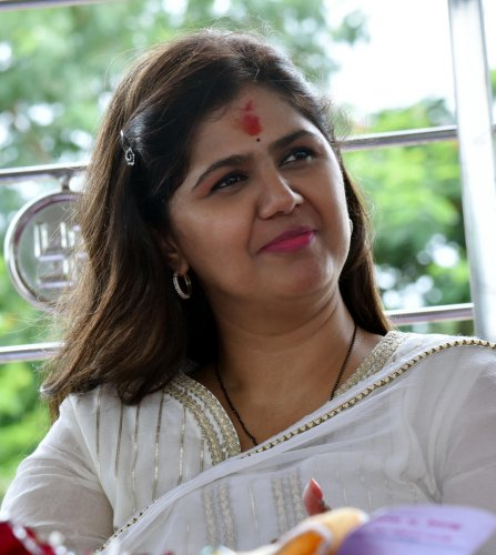 Pankaja has not yet vacated her official residence allotted to her as a minister in the erstwhile BJP-led government.