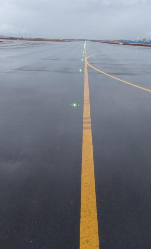 The new south parallel runway. (DH Photo)