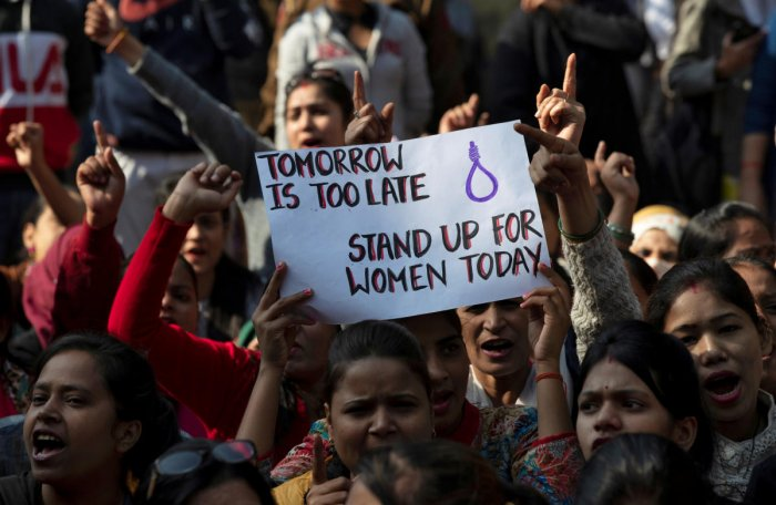 Over 15 lakh people from across the country have signed petitions on change.org in the last four days seeking justice for the 27-year-old veterinarian who was brutally raped and murdered in Hyderabad. Photo/REUTERS
