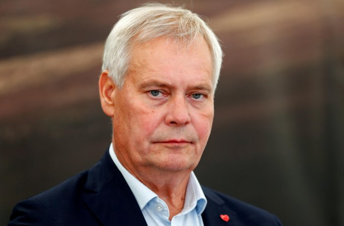 Rinne, a Social Democrat who has headed the centre-left government since June, handed his resignation to President Sauli Niinisto, the presidency said. Photo/REUTERS