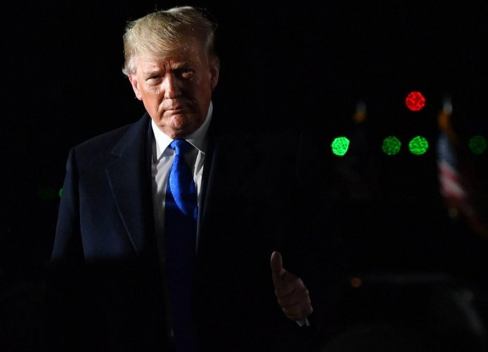 US President Donald Trump(Photo by AFP)