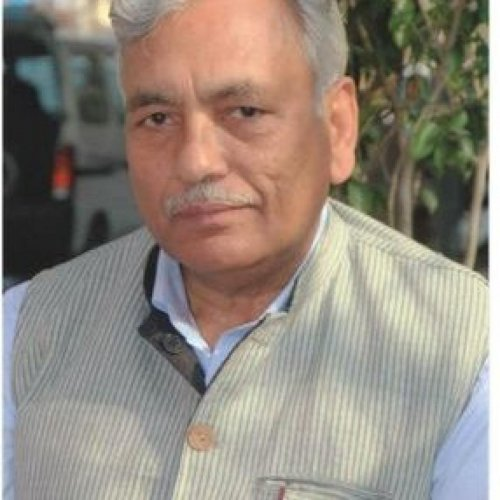 Ram Niwas Goel. Twitter photo