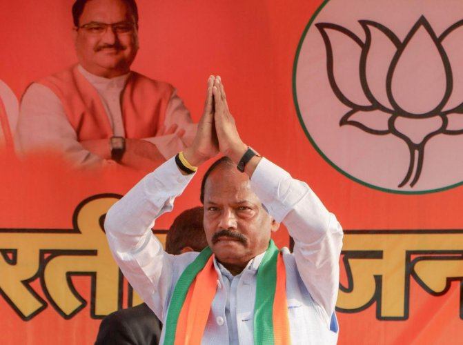 Having started his career as a labourer in one of the rolling mills in Tata Steel in the 70s to becoming a BJP MLA from Jamshedpur in the 90s, Das eventually became the first non-tribal Chief Minister of Jharkhand in 2014. Photo/PTI