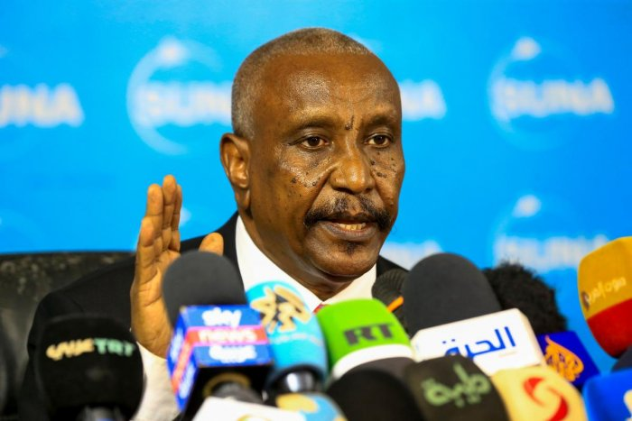 Yasir Arman, deputy leader of rebel Sudan People's Liberation Movement-North (AFP photo)