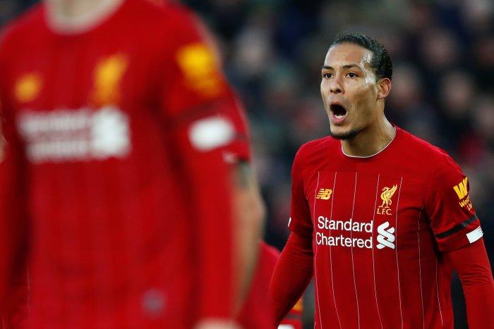 Liverpool's Virgil van Dijk. (Reuters Photo)