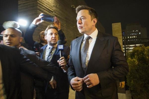 Tesla co-founder Elon Musk. (AFP photo)