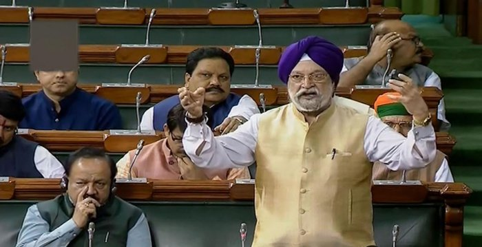 Union Minister Hardeep Singh Puri. (PTI Photo)