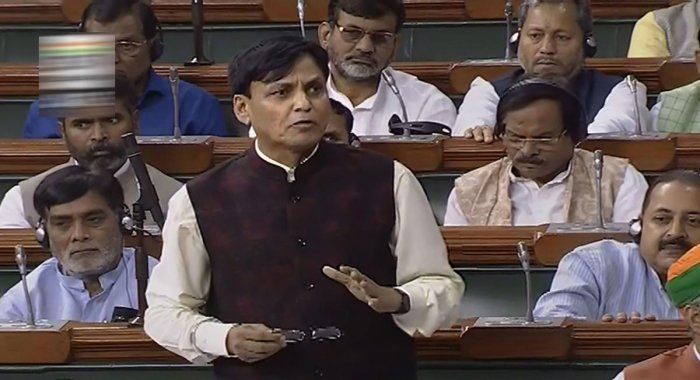 This was disclosed by Minister of State for Home Nityanand Rai during Question Hour. He was responding to a question posed by Rajeev Chandrasekhar. Photo/PTI