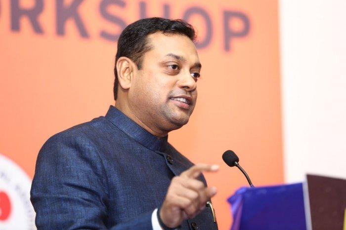 BJP national spokesperson Sambit Patra. (DH Photo)
