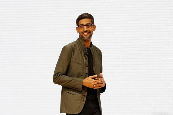 "Pichai will take over from Larry Page, a co-founder of the internet giant, at the holding firm which includes Google as well as units focusing on ""other bets"" in areas including self-driving cars and life sciences. (Reuters photo)"
