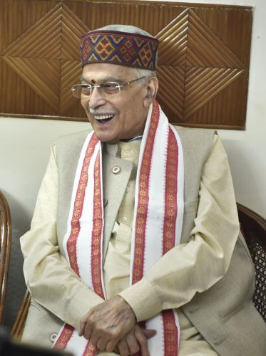 Veteran Sena leader Manohar Joshi had said his party and the BJP which parted ways days after the results of the Maharashtra assembly poll were announced, can come together in near future.