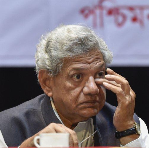 Communist Party of India (Marxist) General Secretary Sitaram Yechury. (PTI Photo)