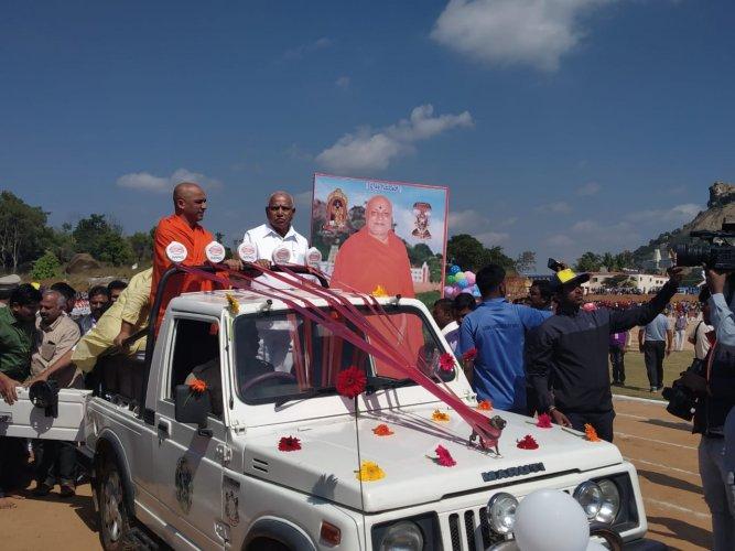 Chief Minister B S Yediyurappa. (DH photo)
