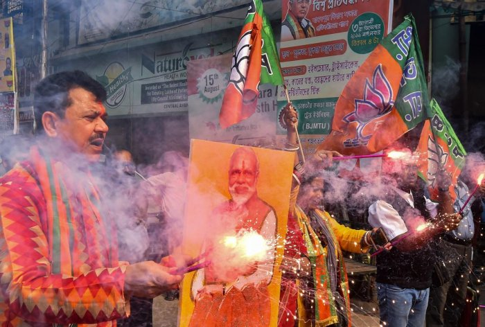 """Dubbing TMC """"anti-Bengali"""", state BJP President Dilip Ghosh said that when the dream of thousands of Bengali refugees of getting Indian Citizenship is about to materialise, the TMC is obstructing it by opposing the CAB. Representative image/PTI"""