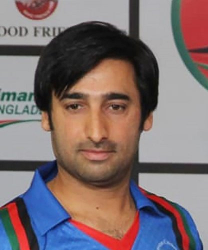 Afghan cricket captain Mohammad Asghar Stanikzai(Photo by AFP)