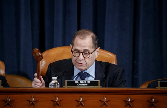 House Judiciary Committee Chairman Jerry Nadler(Photo by REUTERS)